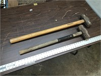 PAIR OF SLEDGE HAMMERS