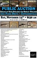 STRADER AUCTION - ON SITE ONLY