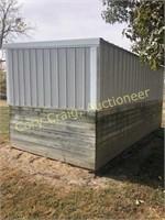 Portable Livestock Shelter, 9'x18', on runners,