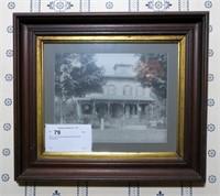 "14.5"" x 16.5"" Victorian Walnut framed photo"