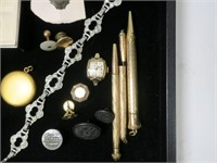 Lot: Assorted Jewelry with Playboy bunny earrings,