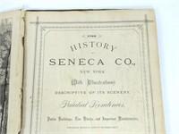 1876 History of Seneca County Book