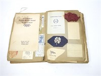 Lot: Scrapbook of Miss Elizabeth Hoffman 1908-1914