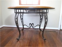 """48"""" Round Dinette Table with iron Base"""