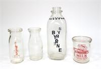 Lot: Vintage Milk Bottles
