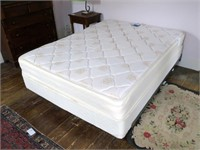 Queen Size Therapedic Mattress, Boxspring & Frame