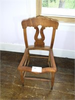 Tiger Maple Side chair,