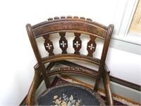Eastlake Walnut Side chair