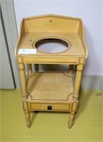 Victorian Cottage 1-Drawer Wash Stand,