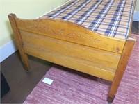 Antique Eastlake Single Bed
