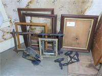 Lot: Victorian Frames, Light Fixture