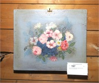 """13"""" x 15"""" Painting on Board, signed Jane Garr"""