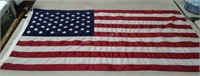 3'x5' United States Flag on 5' pole. Flag is