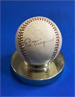 The Mike Anderson HOF autographed baseball collection #1