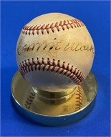 The Mike Anderson HOF autographed baseball collection #2