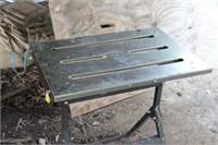 New Folding Welding Table