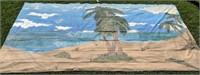 Beach and Palm Tree Back Drop 12' x 20'
