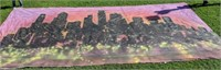City Scape at Sunset Back Drop 17' x 35'