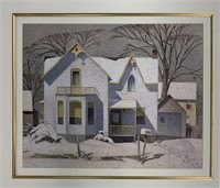 Large Framed A.J.Casson Decorator Print