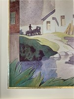 Large Framed A.J.Casson Decorator Print
