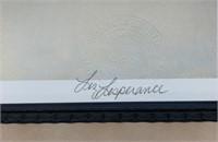 LTD Edition Liz Lesparance 1991 Frame Print