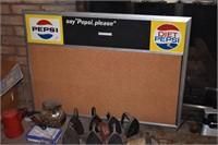 Pepsi & Diet Pepsi Menue Board
