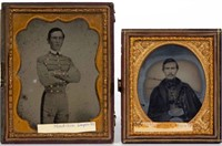 Rare ambrotypes of Capt. Madison Deyerle, killed at the Battle of Williamsburg in 1862, descended directly in the family.