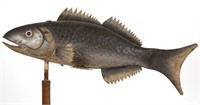 19th-century full-body codfish weathervane