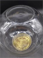 """Round Glass Jar 9"""" x 10"""""""