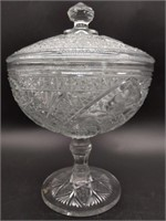 Lidded Compote 9""