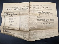 Wellington Daily Newspaper 1906
