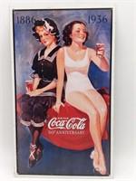 """Coca-Cola Metal Sign 9"""" x 16.5"""""""
