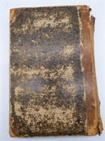 Antique 1832 The Penny Magazine Book