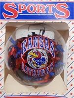 Kansas Jayhawks Ornament