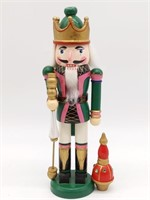 Small Wood Nutcracker 10""