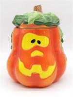 """Jack-O-Lantern Cookie Jar 9"""""""