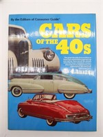 Cars of the 60s, 50s, 40s, and 30s Hardback Books