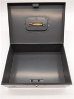 "Steelmaster Cash Box 10.25"" x 4"" x 7.25"" (no key)"
