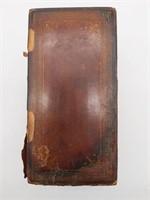 """Antique Wood Cigarette Box 5.75"""" x 3.5"""" x 3.5"""""""
