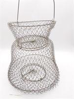 Fish Basket, Tad Pole Folding Fishing Pole,