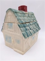 "Cottage Cookie Jar 8"" x 6.5"" x 10"""