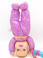 Star Gymnast Jamie Doll, Baby Headstand Surprise,