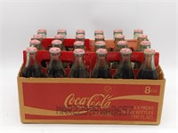 (4) Six Packs of NASCAR Coca-Cola Bottles in