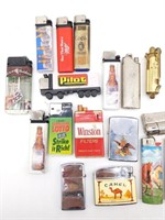 Camel and Novelty Lighters, Zippo & Others