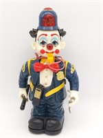 1989 New Bright Toys Clown Cop 13""