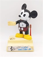 """Vintage Mickey Mouse Talking Toothbrush Holder 6"""""""