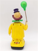 """New Bright Toys 1991 Mechanical Toy Clown 10"""""""