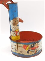 "Tin Toy Water Pump 9"" The Ohio Art Company"