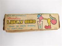 Vintage Artmark Drinking Lucky Bird with Original