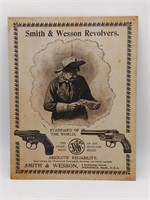 "Smith & Wesson Metal Sign (Reproduction) 12.5"" x"